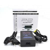 China 70000 90000 PS2 Slim AC Adapter 110 - 240 V Input Black Color For Playstation 2 on sale