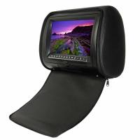Black  OSD, IR, FM, Games, Joysticks 8GB - 16GB Portable DVD Player Car Headrest With Wide Angle Manufactures