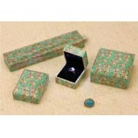 Lovely Jewellery Packaging boxes Plastic Paper Covered Square Shape Manufactures