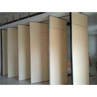 Solid MDF Fabric Foldable Partition Wall , 1230 mm Panel Width Manufactures