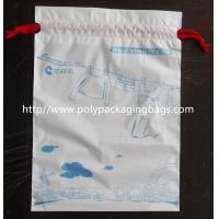 Lovely Recyclable Drawstring Plastic Bags For Children Toy / Books Manufactures