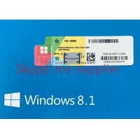 China Original Windows 7 Pro OEM COA License Sticker Online Activation , PC Window Stickers on sale