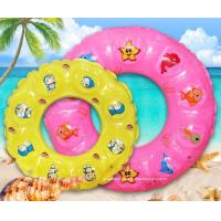 Buy cheap Summer Children Lifebuoy Ring Inflatable Float Ring Toys for Swimming Pool or Beach Fun from wholesalers