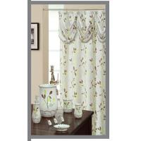 110 GSM PARADISE 100 Polyester Shower Curtains Decorative Sweet Color Manufactures