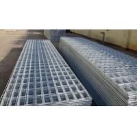 Flat Surface Powder Coated Wire Mesh Panels , Welded Fence Panels For Construction Manufactures