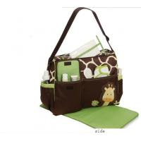 Custom Popular Designer Baby Diaper Bags Small Nappy Changing Bag with Logo Printed Manufactures