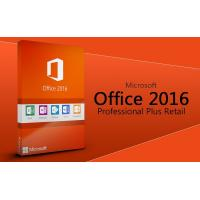 best MS Office 2016 Profesional plus software Office 2016 Pro Plus key card 2016 office pro plus Original key code card Manufactures