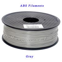 Gray PLA  Or ABS 3D Printer Filament 1.75mm / 3mm 1kg Consumables Plastic Material Manufactures