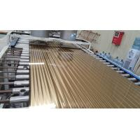 Quality 304 Ti Gold Stainless Steel Sheet Hotel Metal Project 304 1.5mm 1250MM 1500MM for sale