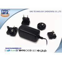 China EU / US / BS / AU Prong Interchangeable 12V 2A Universal Ac Dc Adapter wholesale
