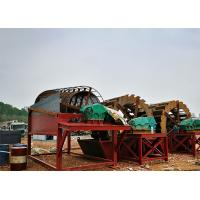 Road Constuction Sand Washing Plant High Efficiency Mobile Waterwheel Type Manufactures
