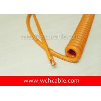 UL Curly Cable, AWM Style UL21830 28AWG 3C VW-1 80°C 30V, PP / TPE Manufactures