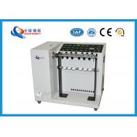 Adjustable Speed Bend Test Equipment / 6-set Wire And Cable Swing Testing for sale