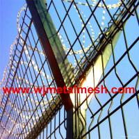 Cottage security fence/razor barbed blade fencing/anti-climbing fence Manufactures