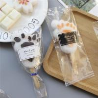 clear printing packing food safe popsicle plastic bag  with sticker Manufactures