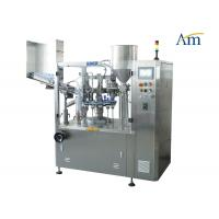 NF -80 Tube Filling And Sealing Machine , Aluminum Tube Filling Machine For Cream Paste Ointment Manufactures