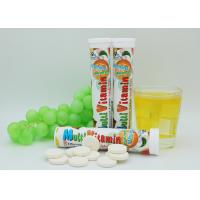 China Dietary Supplement Vitamin C Fizzy Tablets , VC Effervescent Tablets For Bone Health on sale
