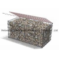 Hot Dipped Galvanized 50 x 50mm  2 x 1 x 1m Welded Gabion Box Low Carbon Steel Wire Material Manufactures