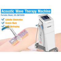 China Air compressor 2-5 bar Effective Cellulite Treatment Acoustic Wave Therapy Equipment For Body Slimming on sale