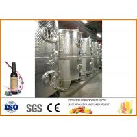 China Complete Blueberry Wine Production Line Anti Oxidation Easy Operation on sale