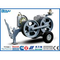 China High Power Cable Stringing Equipment / Underground Cable Pulling Winch for Overhead Line on sale