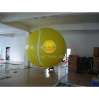 Large Inflatable Tennis Ball Balloon with Total Digital Printing, Sports Balloons Manufactures