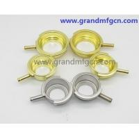 custom 2 inch SS304 / brass Auto Radiator Caps and Auto Filler Necks OEM ODM business service welding connection Manufactures