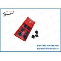 Hardness HRC92 Tungsten Carbide Cutting Tips With Breakage Resistance Manufactures