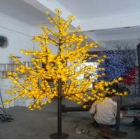 225W/335w LED yellow/purple outdoor Waterproof christmas maple Tree lighting Manufactures
