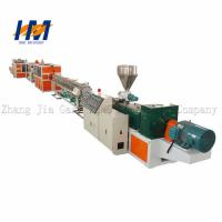 Reliable Plastic Pipe Extrusion Line , Electricity PVC Conduit Pipe Making Machine Manufactures