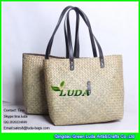 Quality LUDA 2016 new style special palm straw bag for sale