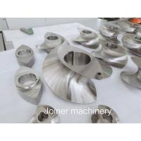 400mm Dia Extruder Screw Elements For Petrochemical Extruder Replacement Parts Manufactures
