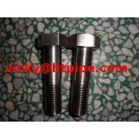 China Zeron100 S32760 1.4501 double end threaded stud bolt stainless steel bolt stud bolt on sale