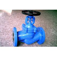 Flanged ANSI Bellow Globe Valve Double Seal B16.10 Bolted Bonnet Globe Valve Manufactures