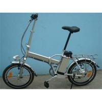 China HLTD-20-2 folding bicycle with lithium battery on sale