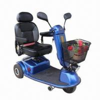 Three-wheel Electric Mobility Scooter with PG Controller and CE Certificate Manufactures