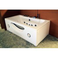 High End Jacuzzi Whirlpool Bath Tub With Underwater Light And Ozone Generator Manufactures
