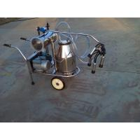 China XD32B Single Bucket and Vacuum Pump Electric motor-driven mobile milking machine on sale