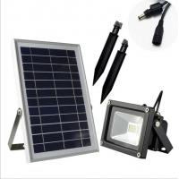 China 8 Hour Solar Powered Led Dusk To Dawn Floodlight CE Certificition on sale