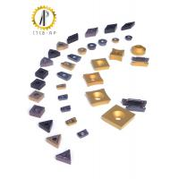 Hard Metal Tungsten Carbide Inserts For Machining Steel / Cast Iron 120-200M / Min Manufactures