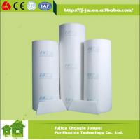 China Buck rolls ceillingfilter/roof filter/diffusion media/spray booth filter/exhaust gas filter media on sale