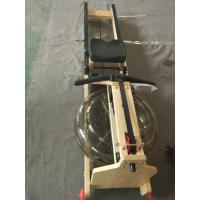 New Hottest Commercial level water rower/ Gym equipment rowing machine with Monitor for Crossfit club Manufactures