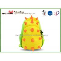 3D Cartoon Dinosaur Toddler Backpack For Kindergarten OEM / ODM Available Manufactures