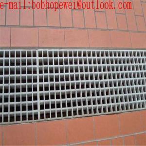 China galvanized steel drain grate/decorative metal grate/stainless steel mesh grate/metal catwalk decking/bar grating supplie on sale