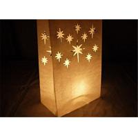 """Buy cheap Paper Packaging Bags / Luminary Lantern Bags Path Lighting 6""""Width x 10""""Height x from wholesalers"""