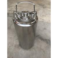 China 5 Gallon Ball Lock Soda Keg With Pressure Relief Valve And Lids on sale
