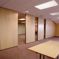 China Aluminum Acoustic Folding Partitions Walls Movable Door for Meeting Room on sale