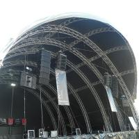 300x300mm bolt / stage  / strong capacity aluminum stage box truss and display truss Manufactures