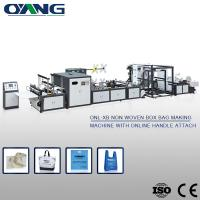 Automatic Non Woven Shopping Bags Making Machinery for Handle Bag Manufactures