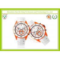 China Multi-functional Digital Silicone Band Watches Sport VD54 Movement on sale